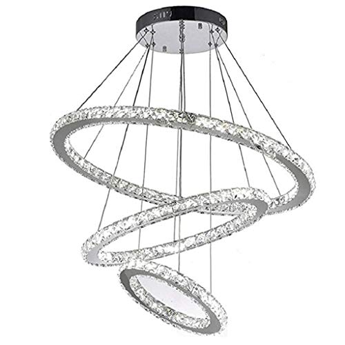 Viqie - Lámpara de araña para dormitorio (20 x 40 x 60 cm)
