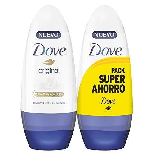 Dove Original- Desodorante Roll On 2x 50 ml