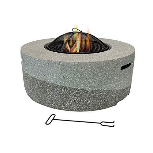 Fire Pits Outdoor charcoal grill-patio patio heating stove, garden villa leisure barbecue table indoor brazier