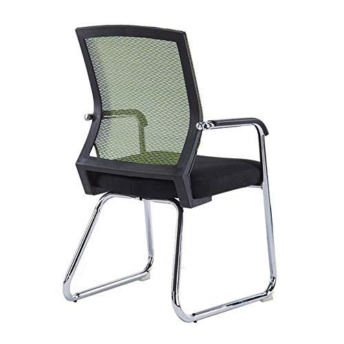 Wlylyhjy Ergonomische Bequeme Sitz Padded Aufgaben-Stuhl Bürostuhl Ineinander Greifen Stühle Empfang Stuhl Breath Wear Resistant Computer-Schreibtisch-Stuhl
