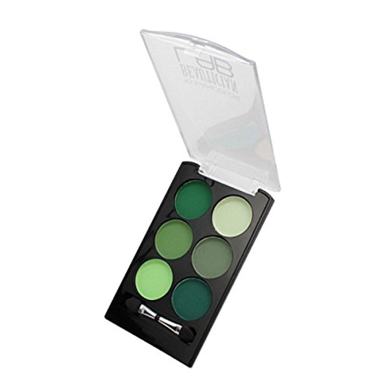 ほぼ鉛ずんぐりした(6 Pack) KLEANCOLOR Beautician Lab Shimmer Shadow Pallete - Chemist (並行輸入品)