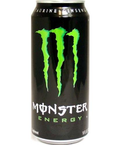 4 Pack - Monster Original Energy Drink - 16 Ounce