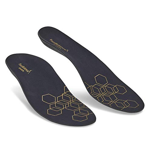 FootBalance QuickFit Casual Insoles, Heat Moldable Custom Orthotics for Ultimate Comfort // Reduce Foot Fatigue and Stay on Your Feet (Unisex)