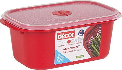 Décor - Recipiente rectangular horno microondas microondas