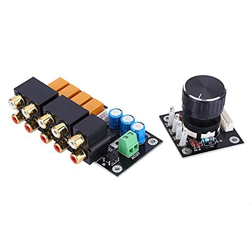 Tablero de selección de señal de audio, selector de señal de audio duradero y confiable para medios familiares