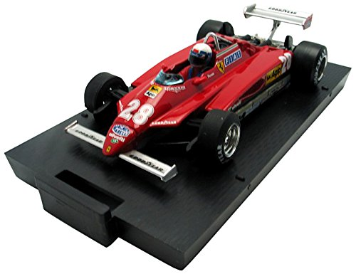 Brumm - R268ch - Véhicule Miniature - Modèle À L'échelle - Ferrari 126 C2 avec Pilote - Winner San Marino GP 1982 - Echelle 1/43