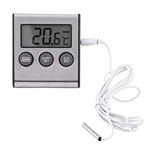 Allarme Frigorifero Congelatore Con Termometro - Termometro Digitale Frigorifero Con Congelatore A Temperatura Frigorifero Con Magnete E Supporto