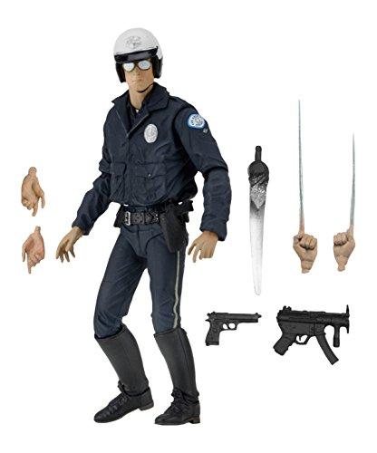 Terminator 2 51914 Ultimate T-1000 Motorrad Cop Figur, 17,8 cm