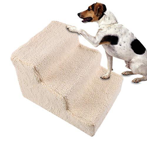 Chengstore 2-4 Pasos Escalera para Perros Escalada Lavable