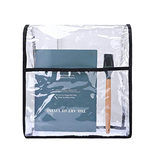 Abdeckung für Küchenhelfer, 6-8 Quart Mixer, transparent, Standmixer-Abdeckung, kompatibel mit Kitchenaid und Hamilton Mixern, 40,6 cm H x 22,9 cm B x 35,6 cm L