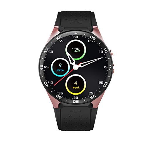 Taurusb Reloj teléfono Inteligente Tarjeta SIM, Pro Android 7.0 Inteligente Reloj de 1 GB + 16 GB Bluetooth 4.0 WiFi 3G SmartWatch Reloj de los Hombres de Apoyo Tienda de Google Voice mapas GPS,A1