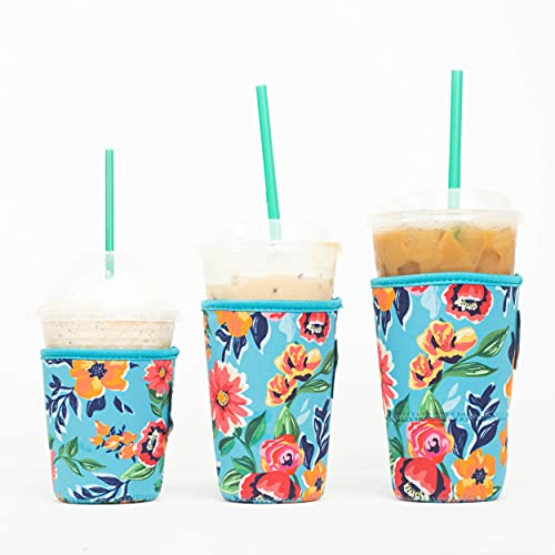 Baxendale Iced Coffee Sleeve for Cold Drink Cups 3 Pack Neoprene Iced Coffee Sleeve Cup Sleeves for...