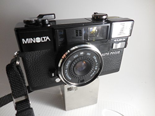 Minolta Hi-Matic AF2 Auto Focus 35mm Film Flash Camera w/ Minolta Lens 38mm 1:2.8 (46mm)