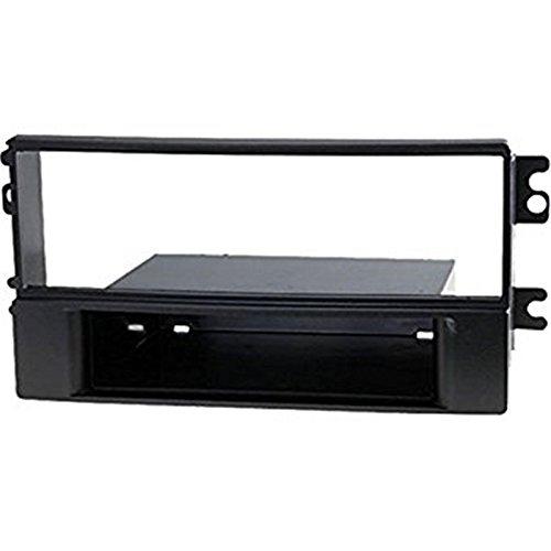 Sound-way Mascherina 1 DIN, Supporto Adattatore Autoradio compatibile con Kia Sportage
