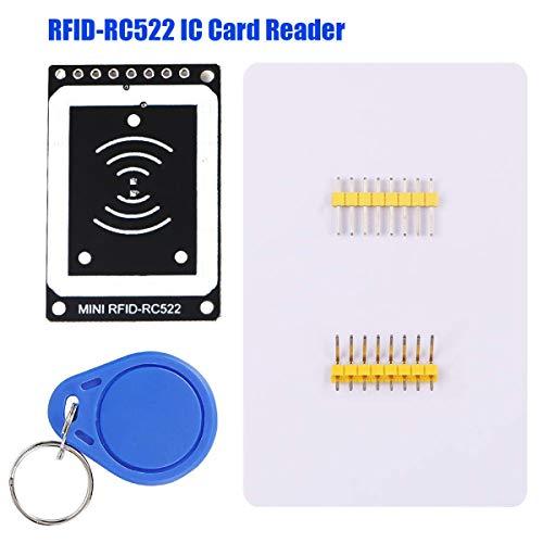 Innovateking-EU Modulo RFID IC Card RC522 Modulo di Scrittura RFID Starter Kit 13.56MHZ 3.3V con S50 White Card e Portachiavi per Arduino Raspberry Pi Uno R3 Mega 2560
