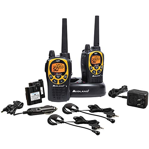Why Choose Midland - GXT1030VP4, 50 Channel GMRS Two-Way Radio - Up to 36 Mile Range Walkie Talkie, ...