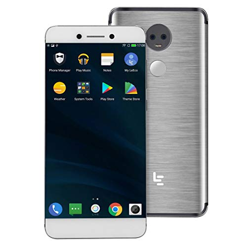MEETBM ZIMO,LeEco Le X950, 6GB+128GB, Dual Back Cameras, Fingerprint Identification, 5.5 inch Android 6.0.1 Qualcomm Snapdragon 821 Quad Core up to 2.342GHz, Network: 4G(Silver) (Color : Silver)