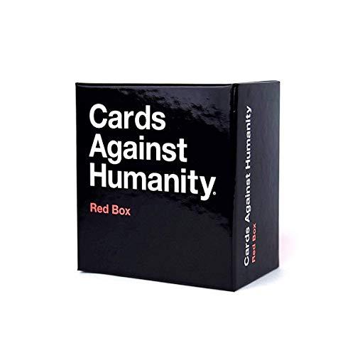 WanSheng Juegos de Cartas para Adultos/Cartas contra la Humanidad: Caja roja/Juegos de Fiesta