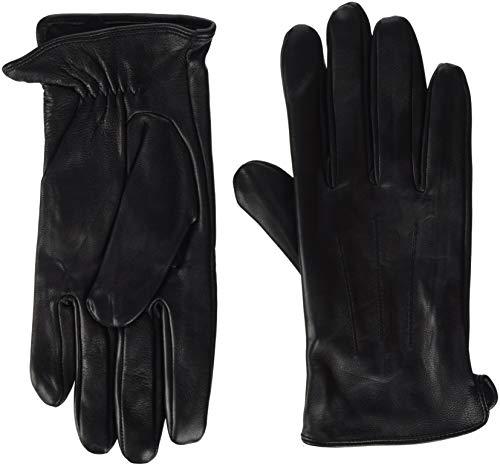 PIECES Damen PCNELLIE Leather Glove NOOS Handschuhe, Schwarz (Black), 5.5 (Herstellergröße: S)