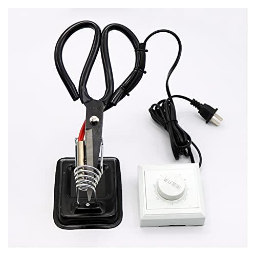 XIXI-Home Tijeras de Sastre de calefacción eléctrica Ajustables 1PC con Controlador y...