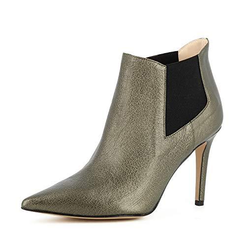 Evita Shoes Natalia Damen Stiefelette Metallic Messing 42