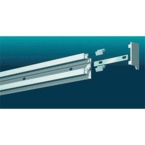 Legamaster 7-310000 Schienenset für Legaline Professional Wandschienensystem, 2 Kanäle, 240 cm, weiß