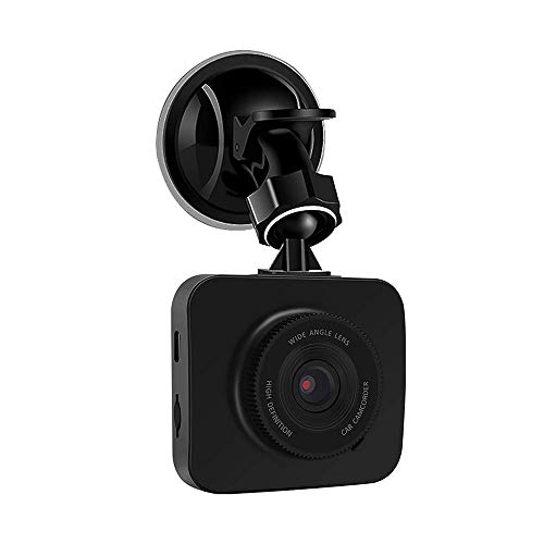 "Procus Iris Car Dash Camera, FHD 1080P, 2"" LCD Screen Video Recorder, 120° Wide Angle Lens, G-Sensor, Motion Detector, Loop Recorder, Upto 32GB"