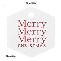 クリスマス ペンダント デコレーション クリスマス ツリー デコレーション クリスマス デコレーション 使いやすい クリスマス デコレーション 誕生日パーティー ファミリー パーティー(White hexagon)
