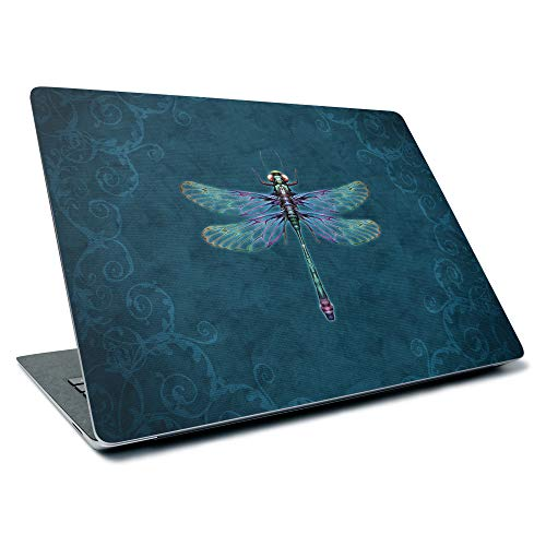 MightySkins Skin for Microsoft Surface Laptop 3 13.5' (2019) - Vibrant Dragonfly | Protective, Durable, and Unique Vinyl Decal Wrap Cover | Easy to Apply, Remove, and Change Styles | Made in The USA
