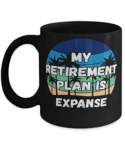 My Retireman Plan is Expanse Coffee Mug 11oz, black