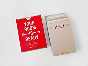 Your Room is Ready: A Set of Fictional Hotel Notepads from Film, Books & TV