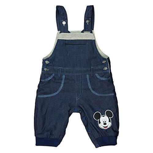 Minnie Mouse Disney Baby Jungen Thermo-Jeans-Latz-Hose warme Dicke gefütterte Hose in Größe 62 68 74 80 86 92 98 104 Freizeit-Hose für Herbst-Winter Farbe Modell 2, Größe 92