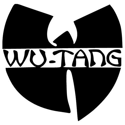 Wu Tang Rock Band Printed Decal Sticker - 5' Sticker for Cars Windows Notebooks Lockers Etc
