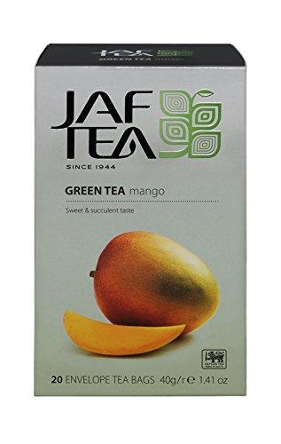 JAF TEA Grüner Tee - Mango - 20 Teebeutel