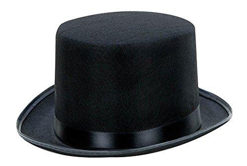 Kangaroo Black Costume Top Hat