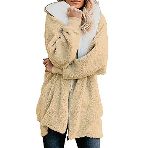 Bold Manner Gilet Femme sans Manches Polaire Thermique Blouson Manteau Chaud Automne Hiver