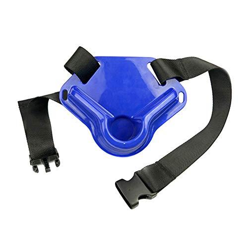 Guajave 1 Pieza Pesca Cinturón Pez Caña Soporte para Ajustable Poste Abordar - Azul