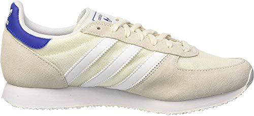 adidas Damen ZX Racer Sneaker, Weiß (Off White/FTWR White/Collegiate Royal), 38 EU