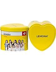 【正規】【特典付き】LEMONA x TWICE ハート缶 2g x 70包入り 日本語パッケージ ビタミンC レモナ トゥワイス ポストカード ミニフォトカード(条件有り)