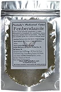 Peabody's Medicated Flakes - Fenbendazole