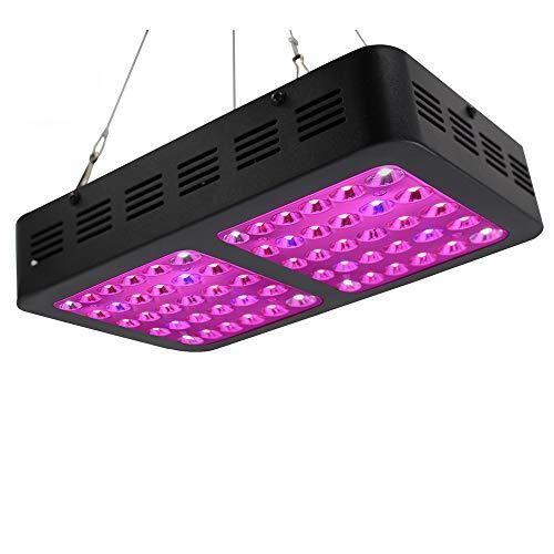 600W Pflanzenlicht LED Grow Lampe Vollspektrum High Power Pflanzenbeleuchtung Fill Light Lampe Geeignet für Gemüse und Blumen