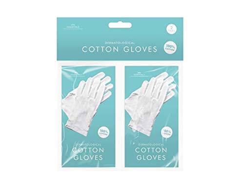 Play-tec Bisou Dermatologische witte katoenen handschoenen