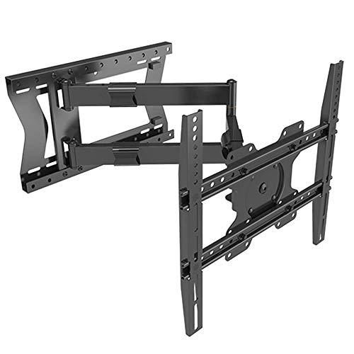 """XTRARM """"Tantal"""" - Supporto fisso da parete per TV, 80 cm, colore: nero, misura della TV consigliata: circa 32 – 75 pollici, VESA 100 x 100/ - 200 x 200/ 400 x 400 mm, girevole/orientabile"""
