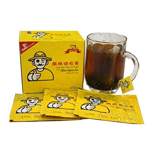 10 Pack Tan Ngan Lo Medicated Tea Herbal Tea (All Natural Traditional Herbs Remedy) Imported from Malaysia- Free Express Delivery
