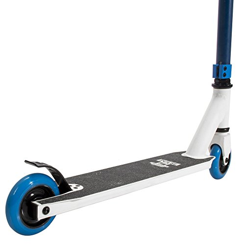 Pulse Performance Products KR2 Freestyle Scooter - Beginner Kick Pro Scooter for Kids - Blue