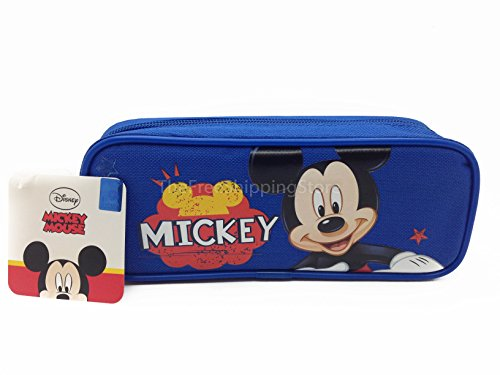 Mickey Mouse Pencil Case - Blue