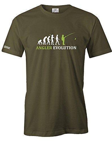 ANGLER EVOLUTION - HERREN - T-SHIRT in Army by Jayess Gr. XXL