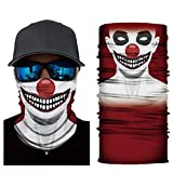 4Clean 3D waschbarer Schlauchschal mit Motiv I Gesichtsmaske mit UV-Schutz I Multifunktionstuch für Motorrad und Radfahren I Deine Mundschutzmaske mit Motiv(Halstuch Herren/Damen) (S114)
