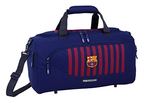 FC Barcelona 2018 Kinder-Sporttasche, 50 cm, Blau (Azul)