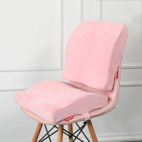 Ashle Breathable Lumbar Support Chair Cushion Ergonomic Orthopedic Chair Cushions Mesh Breathable Waist Backrest Pad With Washable Cover Memory Foam Back Chair Cushion Seat Cushion & Lumbar Support